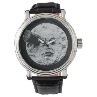 月のヴィンテージ映画への旅行 腕時計