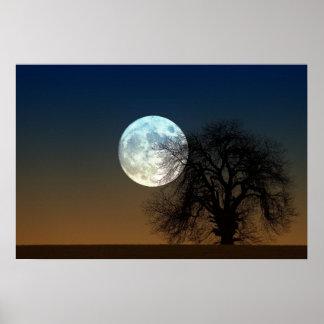 月の上昇 ポスター