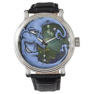 月の人のタイムマシン 腕時計