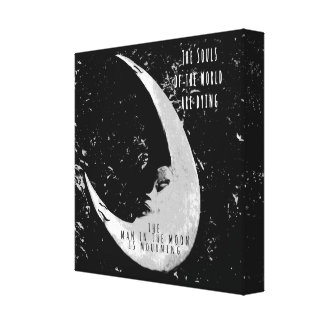 月の人 キャンバスプリント