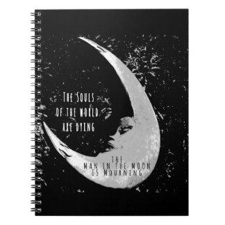 月の人 ノートブック