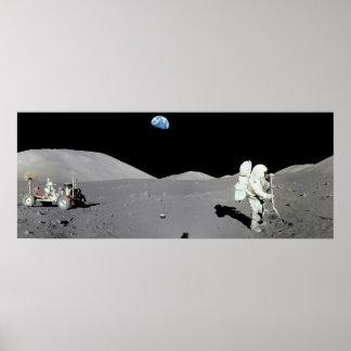 月の人 ポスター