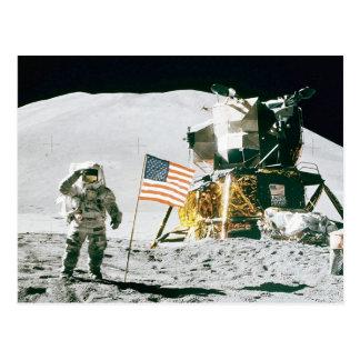 月の人 ポストカード