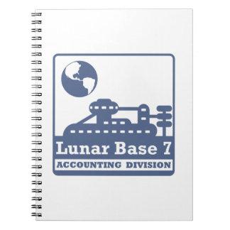 月の会計部 ノートブック