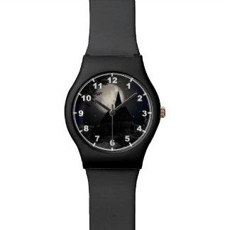 月の光のゴシック様式暗い城(教会) 腕時計