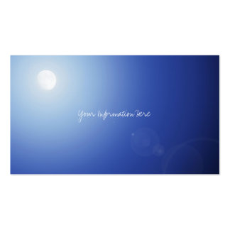 月の光の名刺 スタンダード名刺