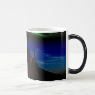 月の変形させるマグの遠ぼえ モーフィングマグカップ
