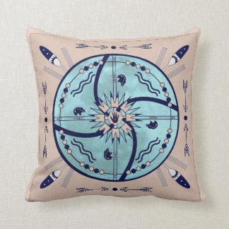 月の天然記号の曼荼羅の枕の保護 クッション