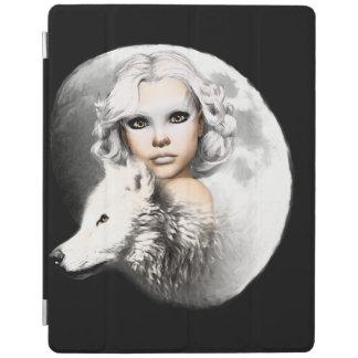月の女性 iPadスマートカバー
