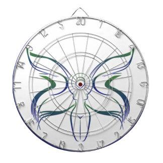 月の女神のウィッカ信者のウィッカ信者の魔力の異教徒の妖精 ダーツボード