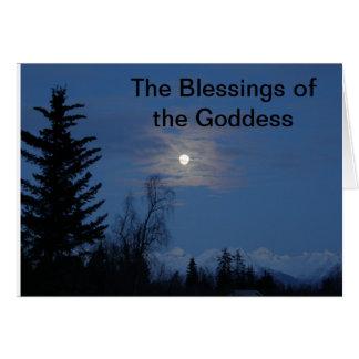 月の女神の恵み カード