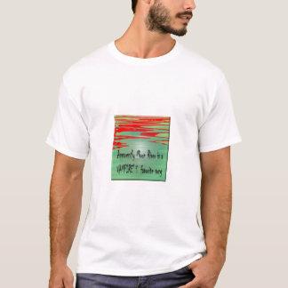 月の川(盆栽版) Tシャツ