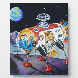 月の探検家 フォトプラーク