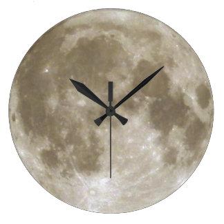 月の時計 ラージ壁時計