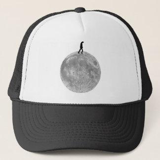 月の歩行者 キャップ