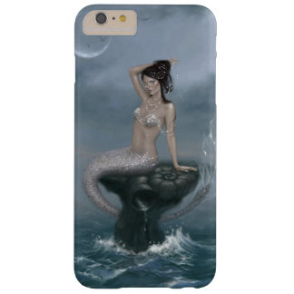 月の潮人魚のiPhone 6のプラスの場合 Barely There iPhone 6 Plus ケース