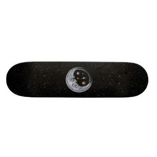 月の看守、宇宙の目 18.4CM ミニスケートボードデッキ