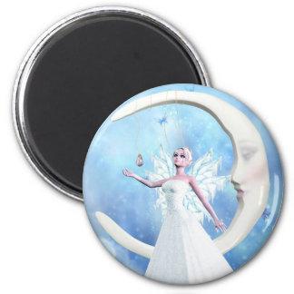 月の空の妖精の磁石 マグネット