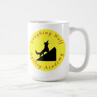 月の笑うオオカミ コーヒーマグカップ