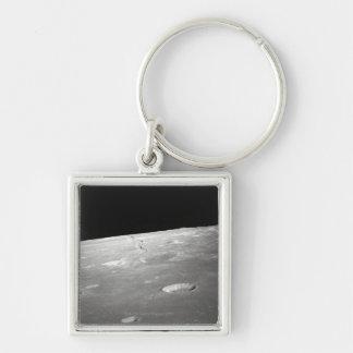 月の表面および地平線2 キーホルダー