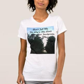 月の足跡 Tシャツ