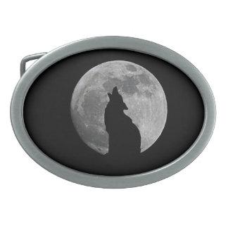 月の遠ぼえ 卵形バックル