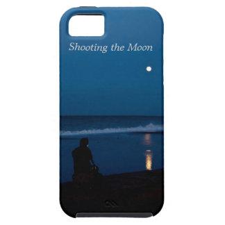 月のiPhoneの箱を撃つこと iPhone SE/5/5s ケース