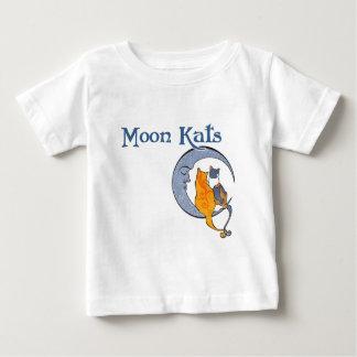 月のKatsのティー ベビーTシャツ