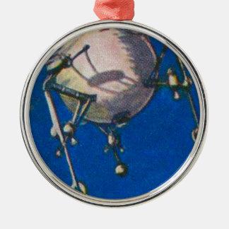 月のLanderの概念 メタルオーナメント