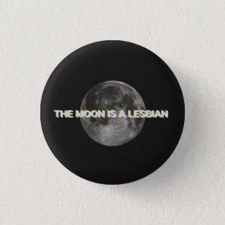 月はレズビアンボタンです 3.2CM 丸型バッジ