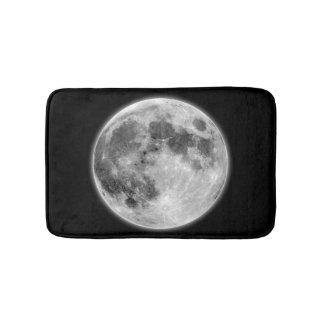 月は暗い夜バス・マットの月を好みます バスマット