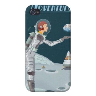 月への宇宙旅行ポスター iPhone 4/4S COVER