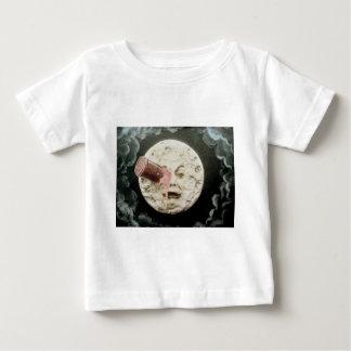 月への旅行 ベビーTシャツ