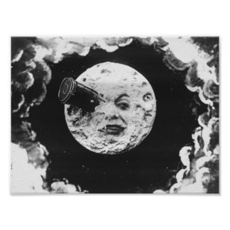 月への旅行 ポスター