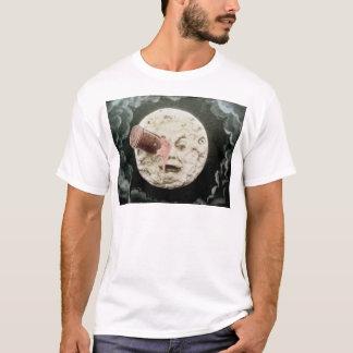 月への旅行 Tシャツ