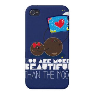 月より美しいです iPhone 4/4S COVER