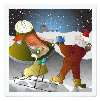 月カードのクリスマス カード