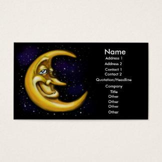 月カード 名刺
