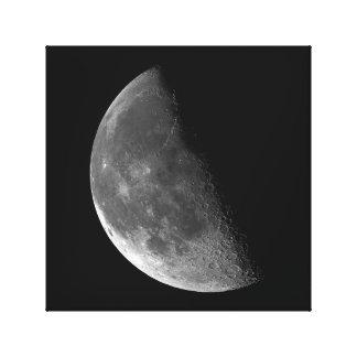 月シリーズ、半月の段階。 5の写真4 キャンバスプリント