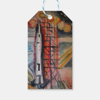 月ロケット1969年 ギフトタグ