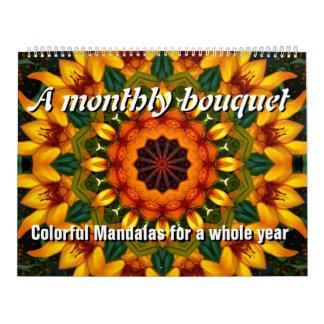 月例花束 カレンダー