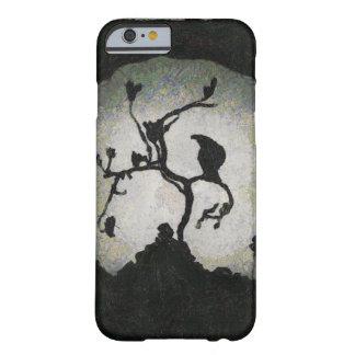 月光でとまる不吉なカラス BARELY THERE iPhone 6 ケース