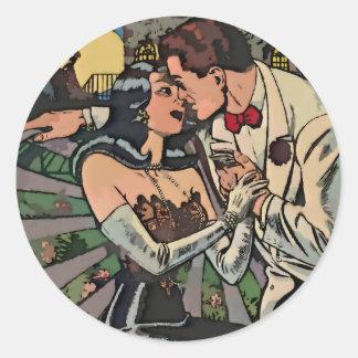 月光でロマンス ラウンドシール
