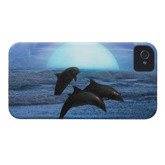月光によるイルカ Case-Mate iPhone 4 ケース
