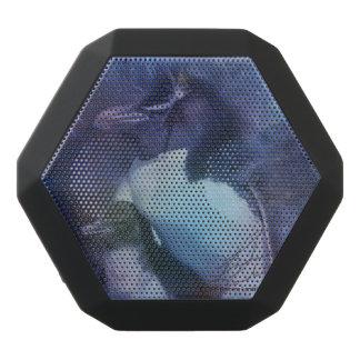 月光のお母さん及び赤ん坊のペンギン ブラックBluetoothスピーカー