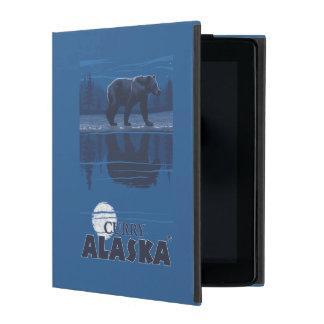 月光のくま-カレー、アラスカ iPad ケース