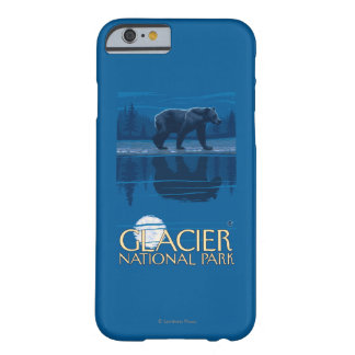 月光のくま-グレーシャー国立公園、MT BARELY THERE iPhone 6 ケース
