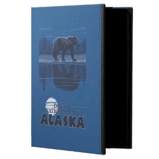 月光のくま- Denaliの国立公園、アラスカ iPad Airケース