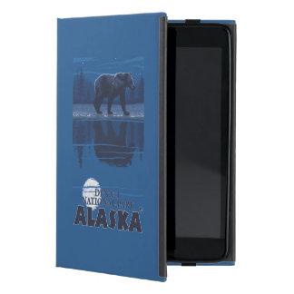 月光のくま- Denaliの国立公園、アラスカ iPad Mini ケース