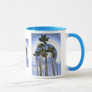 月光のやし マグカップ